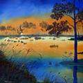 Sunrise At The Lake by SueEllen Cowan