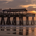 Sunrise At The Pier by James Woody