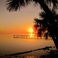 Sunrise At The Pier by Susanne Van Hulst