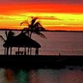 Sunrise At The Tiki Hut by Bill Jordan