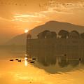 Sunrise At Water Palace by Yew Kwang