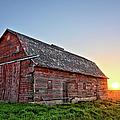 Sunrise Barn by Bonfire Photography