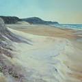 Sunrise Beach And Lions Head Noosa Heads Queensland by Chris Hobel