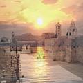 Sunrise Bethlehem by Munir Alawi
