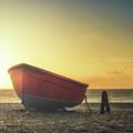 Sunrise Boat by James Billings