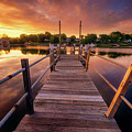 Sunrise By The Ramp by Lechmoore Simms