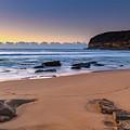 Sunrise By The Seaside by Merrillie Redden