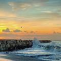 Sunrise California Coast by R Scott Duncan