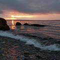 Sunrise, Camden, Maine  -18901 by John Bald