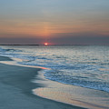Sunrise - Cape May Beach by Bill Cannon