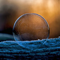 Sunrise Capture In Bubble by Christina VanGinkel