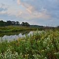Sunrise Clouds Above Glacial Park's Nippersink Creek by Ray Mathis