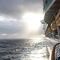 Sunrise Cruise by Barbara Treaster
