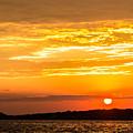 Sunrise Field Goal by Tim Kirchoff