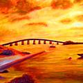 Sunrise Fiesta Key by Ken Figurski