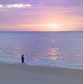 Sunrise Fisherman 2 by Mark Harrington