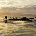 Sunrise Fisherman by Michele Burgess