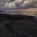 Sunrise From Beavertail In Jamestown Rhode Island by Billy Bateman