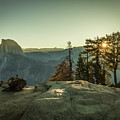 Sunrise Glacier Point by Gary Snell