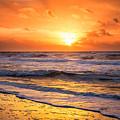 Sunrise Gulf Shores Alabama Beach by Carol Mellema