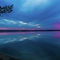 Sunrise Higgins Lake by Joe Holley