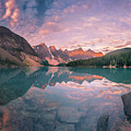 Sunrise Hour At Banff by William Freebilly photography