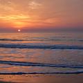 Sunrise Huntington Island State Park by Alan Lenk