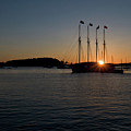 Sunrise In Bar Harbor by Paul Mangold
