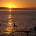 Sunrise In Capitola by Stan and Anne Foster