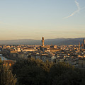 Sunrise In Florence by Luigi Barbano BARBANO LLC
