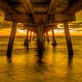Sunrise In Ft Lauderdale Pier by Coco Moni