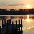 Sunrise In Grayton Beach II by Robert Meanor