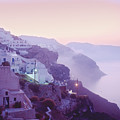 Sunrise In Oia by Yuri Lev