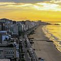 Sunrise In Rio De Janeiro by Mao Lopez