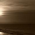 Sunrise In Sepia by Jeff Breiman