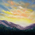 Sunrise In The Mountains by Gina De Gorna