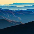 Sunrise In The Smokies by Rick Berk