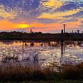Sunrise In Viera by Carl Clay