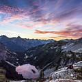 Sunrise Into The Lake by Jeongrae Cho
