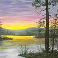 Sunrise Lake by Don Lindemann