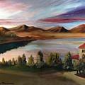 Sunrise Lake by George Markiewicz