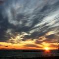 Sunrise Lake Huron 3 by Joni  Strickfaden
