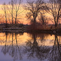 Sunrise Lake Reflections by James BO  Insogna
