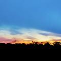 Sunrise Landscape In Zambia by Marek Poplawski