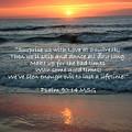 Sunrise Love Scripture by JerryAnn Berry