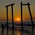 Sunrise At Ocean City by Louis Dallara