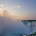 Sunrise Niagara Falls by Steven R Breininger