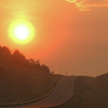 Sunrise On A Country Road by Jack Dagley