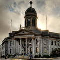 Sunrise On Cherokee County Courthouse by Greg Mimbs