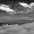 Sunrise On Kanchenjunga Bw by Steve Harrington